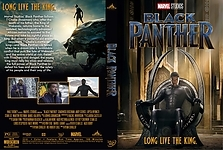 Custom Dvd Covers Black Panther 2018 Efx Coverart Gallery
