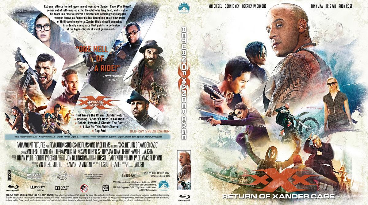 Xxx Return Of Xander Cage 2017 Euphoricfx