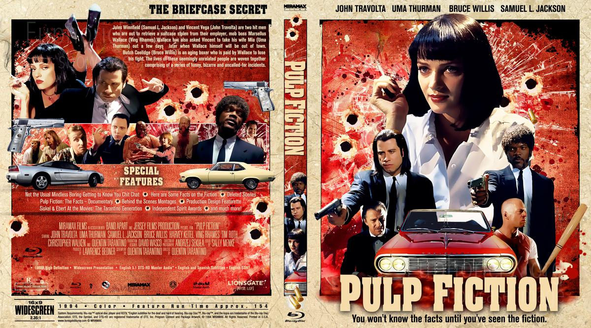 Pulp Fiction 1994 Euphoricfx