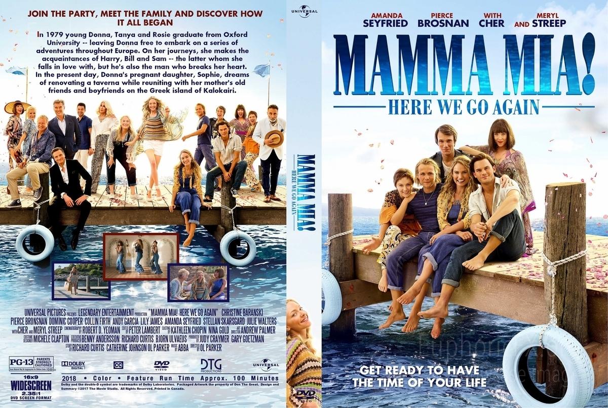 Mamma Mia Here We Go Again 2018 Euphoricfx