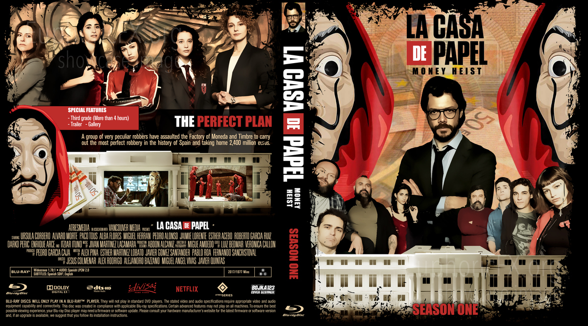 Money Heist (La casa de papel) - Season 1, 2 & 3 • EuphoricFX